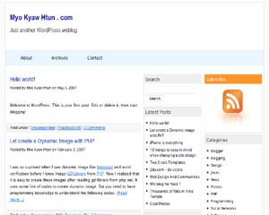 Kolorful WordPress Theme