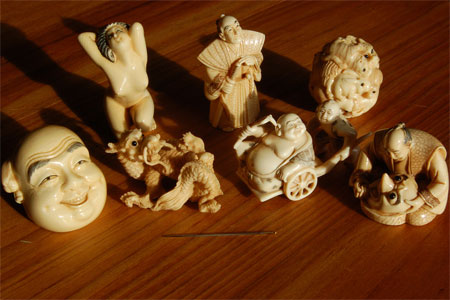 Netsuke Sculptures