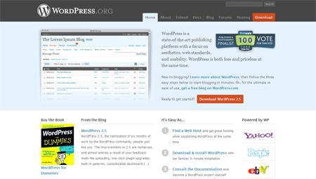 Wordpress.Org - 2.5