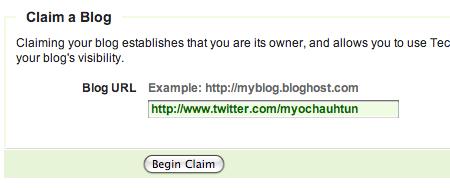 Claim A Blog