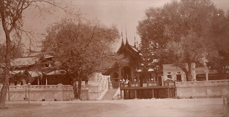 An Entrance to Mandalay Palace