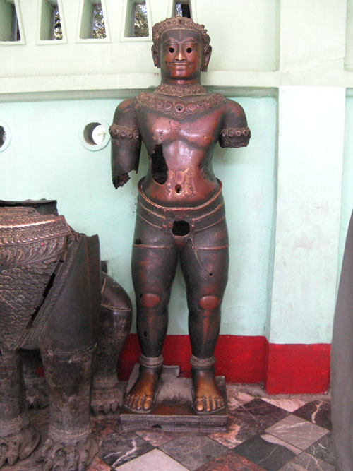 Man Statue $from Mahamuni Pagoda