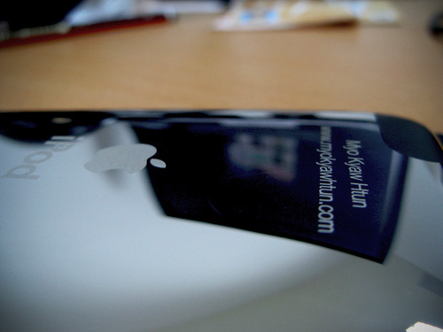 iPod Touch engraved