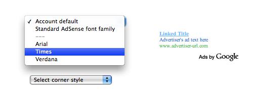 adsense-custom-font