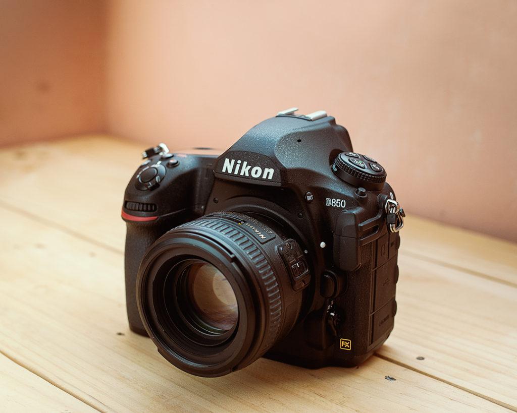 Nikon D850 with AF-S Nikon 50mm F1.4 G